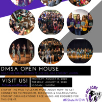 Diversity & Multicultural Student Affairs Open House