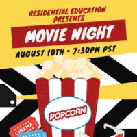 Movie Night - Netflix Party! (Aug. 10)