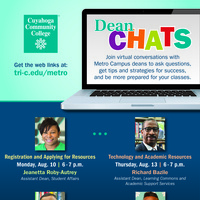 Dean Chat: Registration and Applying for Resources