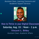 Dean Chat: How to Thrive in Your Digital Classroom