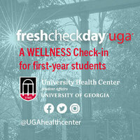 FreshCheckDayUGA - A Wellness Check-in for first-year students