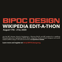 BIPOC Design Wikipedia Edit-a-thon