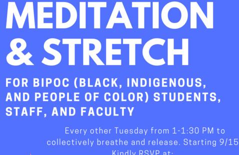 BIPOC Meditation for UCSF Community