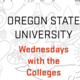 Oregon State University Wednesday with the Colleges logo