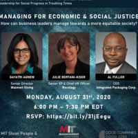 Managing for Economic and Social Justice