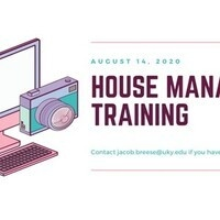 House Manager Training - IFC Chapters