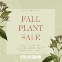 UT Gardens Online Plant Sale