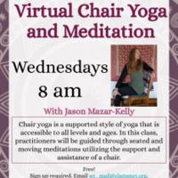 Virtual Chair Yoga & Meditation