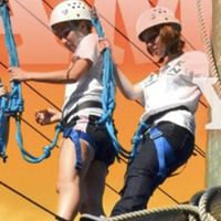 Gold Rush High Ropes Course Open House