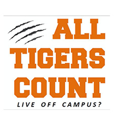 All Tigers Count: Off-campus students need to respond to the Census