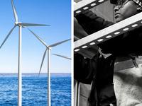 Builders working on clean energy