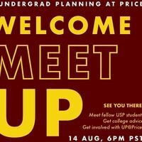 Undergraduate Planning at Price's (UP) fall meetUP/welcome back