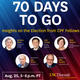 70 Days to Go: Insights on the Election from CPF Fellows