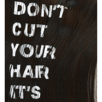 Book jacket for Don't Cut Your Hair It's Beautiful