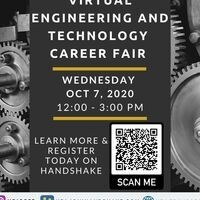 Virtual URI Engineering and Technology Career Fair 2020
