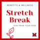 Stretch Break Join From Your Desk