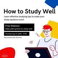 International Graduate Students - Study Tips for Success!
