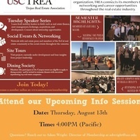 USC Price - Real Estate Student Welcome w/TREA