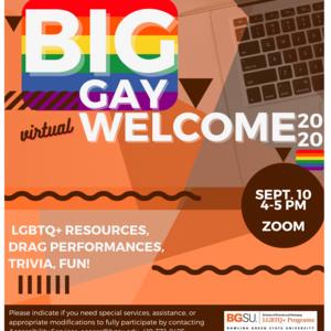 Big Gay Welcome