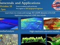 Using and Visualizing LiDAR in GIS
