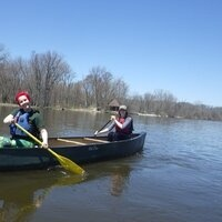 Canoeing the Rock River