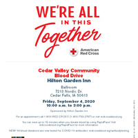 Cedar Valley Community Blood Drive