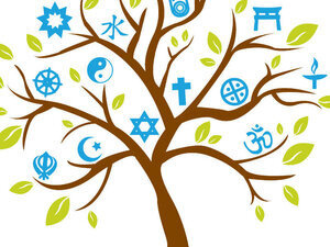Interfaith tree symbols