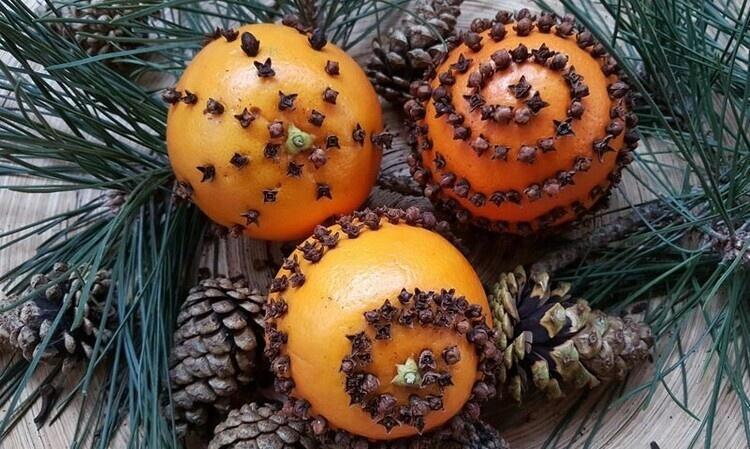 BUDDING ARTISTS: Orange Pomanders