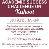 Academic Success Challenge graphic
