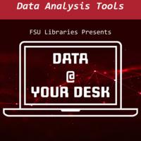 Data @ Your Desk Virtual Workshop: Data Analysis w/ Excel