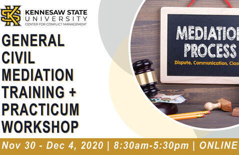40 Hour General Mediation Training & Practicum