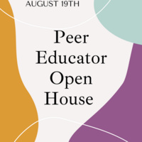 Peer Educator Open House