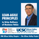 Lean-Agile Principles to Drive Delivery of Business Value