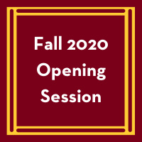 Fall 2020 Faculty/Staff Opening Session