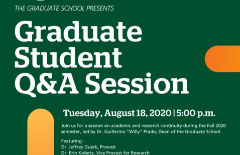 Graduate Student Q&A Session