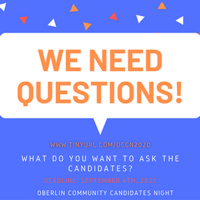 What do you want to ask the candidates? Submit your questions: tinyurl.com/occn2020.