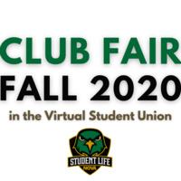 Student Life Virtual Club Fair