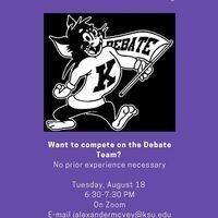 New Debater Informational Meeting