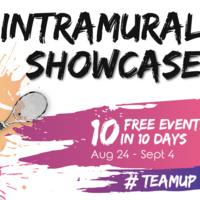 Tennis Singles - Intramural Registration Open