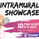 Tennis Singles - Intramural Showcase