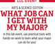 What Job Can I Get with My Major? Arts and Science Edition