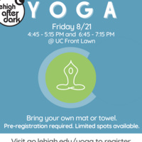 Yoga on the Front Lawn | Lehigh After Dark