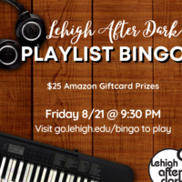 Playlist Bingo | Lehigh After Dark