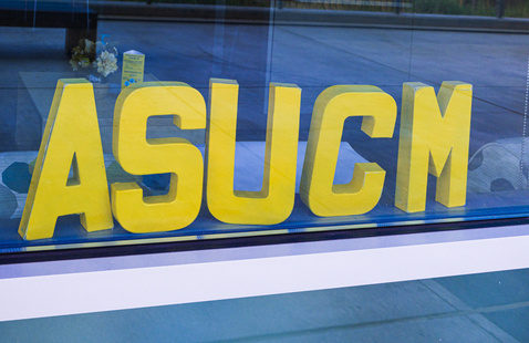 ASUCM sign in window on the UC Merced campus