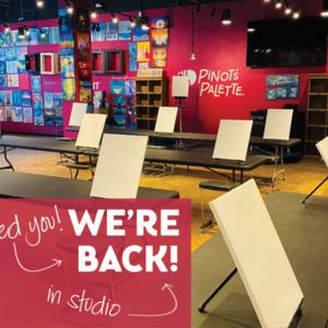 We're Back! NEW In-Studio Classes!