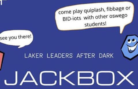 Laker Leaders after Dark presents Jackbox Games