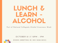 Lunch & Learn - Alcohol