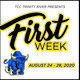 TCC Trinity River Presents First Week, August 24-28, 2020