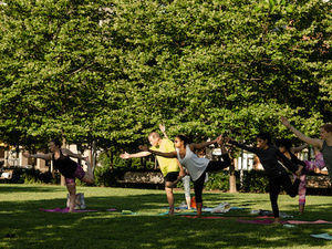 Waterfront Wellness Series: All Levels Yoga with YogaWorks