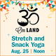 Weeks of Welcome: Stretch & Snack Yoga
